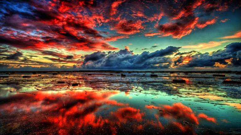 water-landscapes-nature-sun-fantasy-art-hdr-photography-skyscapes
