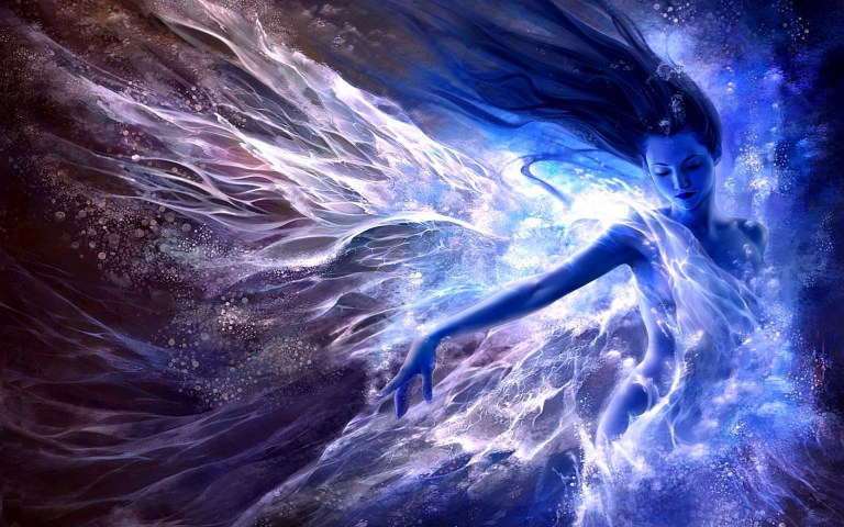 women-water-blue-fantasy-art