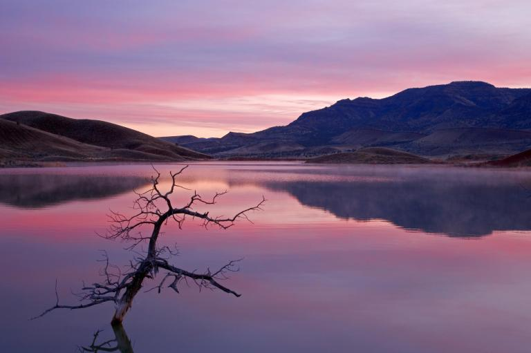 Sunrise, John Day Fossil Beds National Monument