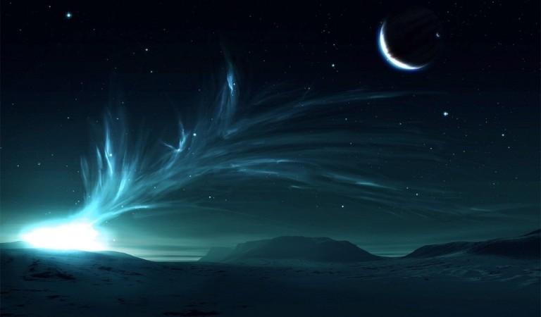 Image: http://b.rarewallpapers.com/media/wallpapers_1024x600/1/flare-on-snowy-planet-3793.jpg