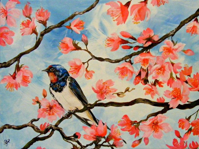 cherry_blossoms_and_swallow_by_tantchen_lulu-d5u13uh