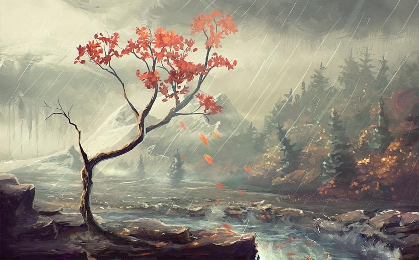 Image: http://www.magic4walls.com/wp-content/uploads/2015/01/rain-winter-painting-stream-forest-nature-mountain.jpg