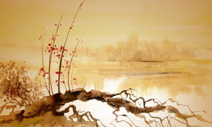 Chinese-painting-snag-river-694x417