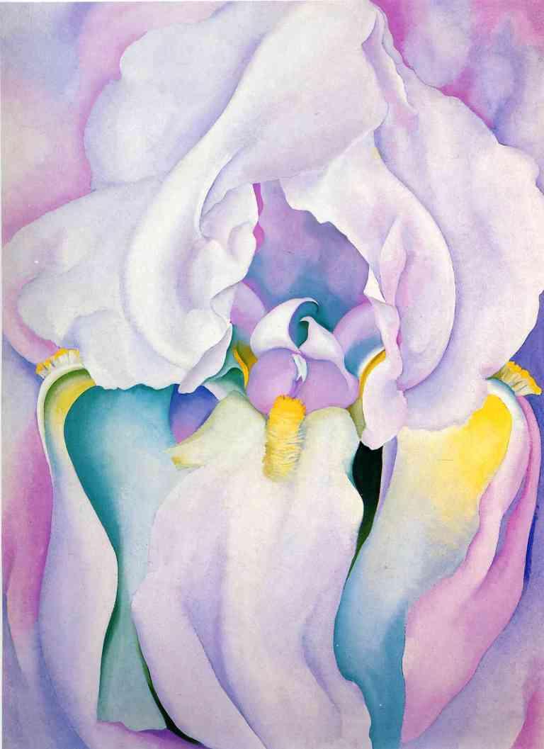 Image: Ligt Iris, Georgia O'Keefe 1924