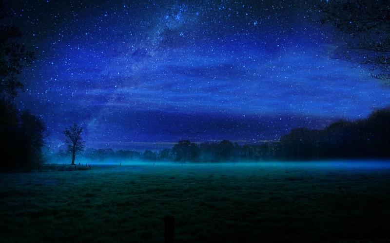 night stars fields mist 1680x1050 wallpaper_www.wallpaperto.com_83
