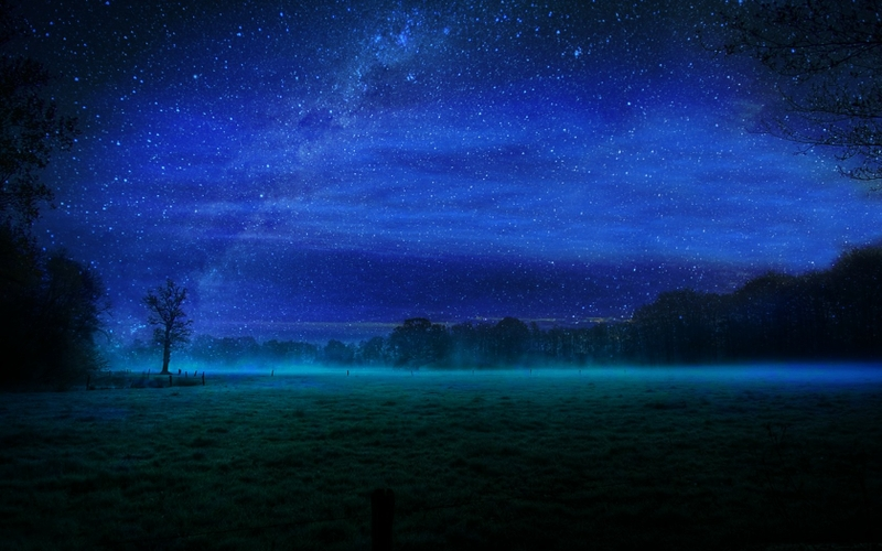 night stars fields mist 1680x1050 wallpaper_www.wallpaperto.com_83