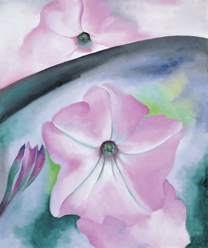 "Artist: Georgia O'Keeffe Painting: ""Petunia No. 2"" Credits:"