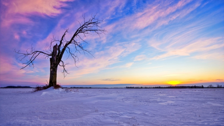 beautiful-winter_sunset-HD-wallpaper 01