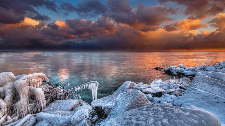 beautiful-winter_sunset-HD-wallpaper 09