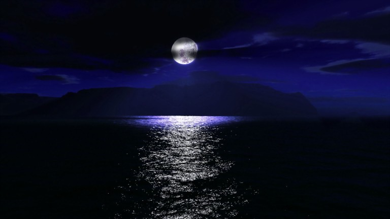 dark-moon-light-on-water