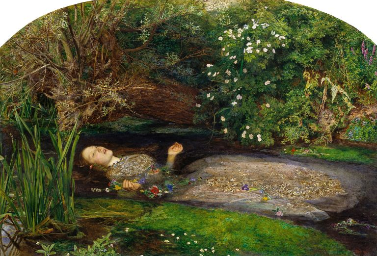 Sir John Everett Millais, Bt Ophelia 1851-2