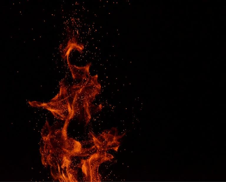 Image: Sparks Rising | by Monika Krupicka