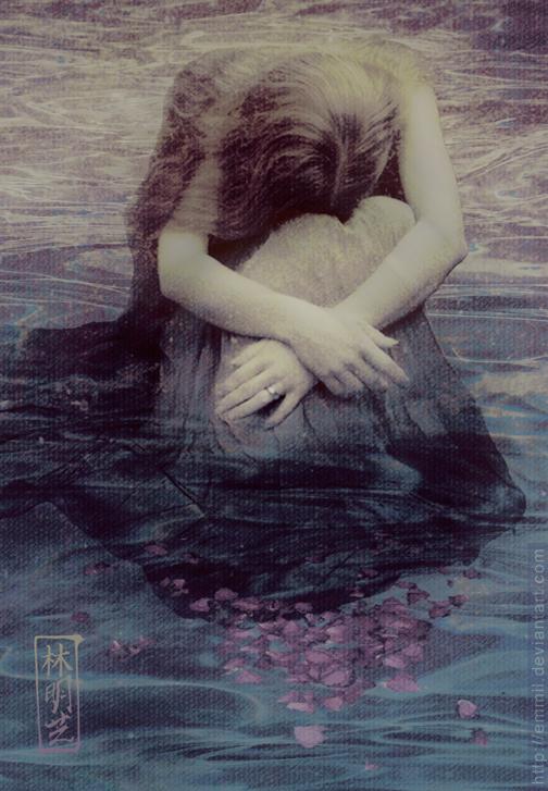 "Image ""Crying Woman"" ©2013-2016 art-adoption http://art-adoption.deviantart.com/art/FOR-SALE-Crying-woman-349822502"
