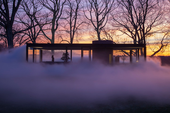 Philip Johnson Glass House in Connecticut