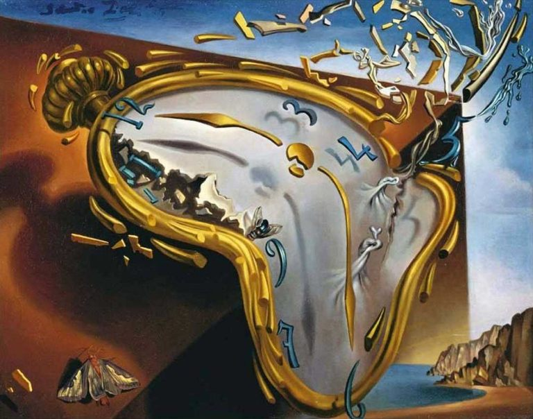 Melting Watch, 1954 by Salvador Dali