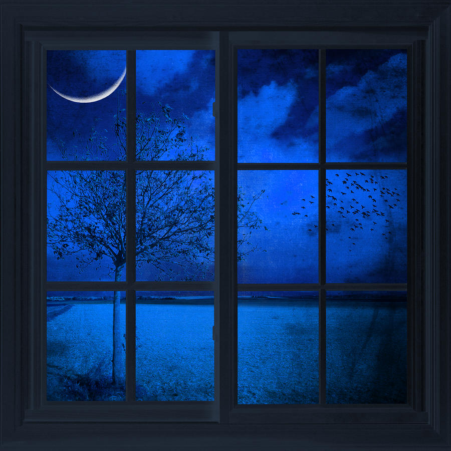 Image: The Blue Window By Philippe Sainte Laudy